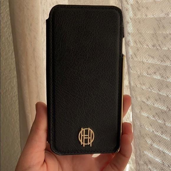 Black Wallet Case iPhone 7/8